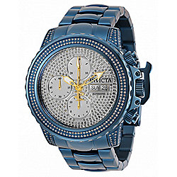 Invicta Reserve 47mm Subaqua Noma II Blue Label Auto Chrono 3.41ctw Diamond Watch