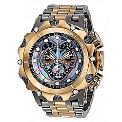 Invicta Reserve Men's 52mm Venom Hybrid Swiss Quartz Master Calendar Mother-of-Pearl Watch