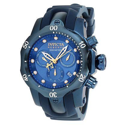 Best of the Best Invicta - Starting at $39.99 - 669-326 Invicta Reserve 42mm Venom Blue Label Swiss Quartz Chronograph Strap Watch