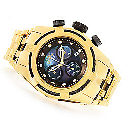 ccf3f2c0d Image of product 669-491. QUICKVIEW. Invicta Men's 52mm Bolt Zeus Quartz  Chronograph Mother-of-Pearl Stainless Steel Bracelet Watch