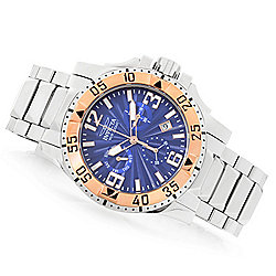36f20f1008d Image of product 669-564. QUICKVIEW. Invicta Men s 50mm Excursion Quartz  Chronograph Stainless Steel Bracelet Watch