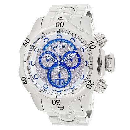 Invicta Breakdown at ShopHQ | 669-594 Invicta Reserve Men's 58mm Grand Venom 10th Anniversary Ltd Ed 1.40ctw Diamond Swiss Quartz Watch