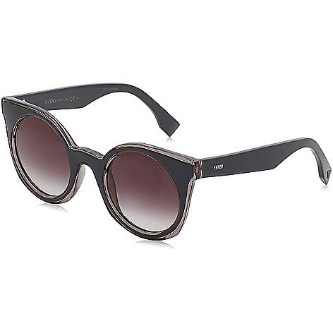 7ec7b32e63 670-096- Fendi 48mm Round Frame Sunglasses w  Case