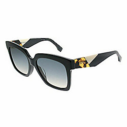 ae66a6fd5d Fendi Unisex 56mm Blue Gradient Lens Square Frame Sunglasses w  Case