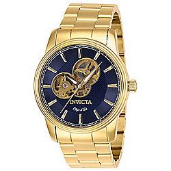 188b02af6 Invicta Men's 44mm Objet D Art Automatic Open Heart Stainless Steel  Bracelet Watch