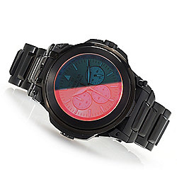 972633793 Image of product 671-061. QUICKVIEW. Invicta Reserve Men's 54mm  Transatlantic Quartz Chronograph Tinted Crystal Bracelet Watch