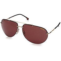 747ebec56e92 Carrera Men's 65mm Burgundy Lens Aviator Frame Sunglasses
