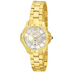 75086fb1d Invicta Women's Angel Quartz Diamond Accented Mother-of-Pearl Dial  Stainless Steel Bracelet Watch