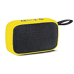 Bluetooth Speakers 673-563 Invicta Portable Yellow Wireless Speaker w FM Radio - 673-563
