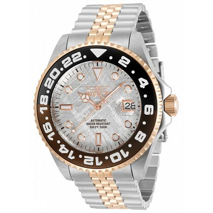 Invicta Automatics Start Your Collection Here - 673-634 Invicta 45mm Pro Diver Soda Automatic Meteorite Dial Bracelet Watch