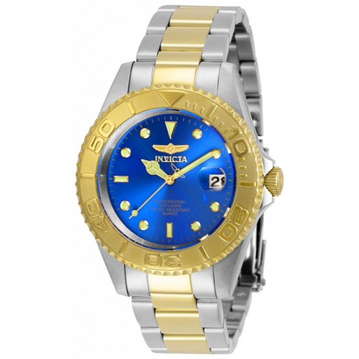 5 Star Timepieces Most Wanted as Voted by You at ShopHQ | 673-861 Invicta 37mm Pro Diver Quartz Stainless Steel Bracelet Watch w 1-Slot Dive Case