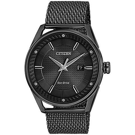 Citizen Men's_42mm Eco-Drive Bracelet_Watch w__Date_Window