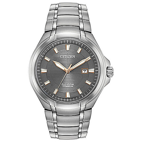 Citizen Men's_43mm Eco-Drive Paradigm_Date Bracelet_Watch