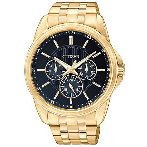 Citizen_Men's_42mm_Quartz_Multi_Function_Stainless_Steel_Bracelet_Watch