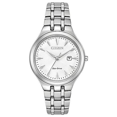 Citizen_Women's_Corso_Solar_Powered_Date_Stainless_Steel_Bracelet_Watch