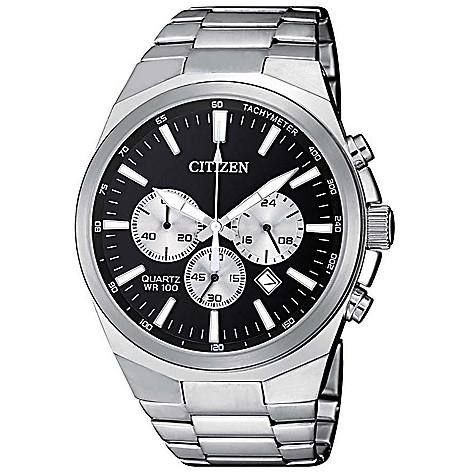 Citizen_Men's_40mm_Quartz_Chronograph_Bracelet_Watch