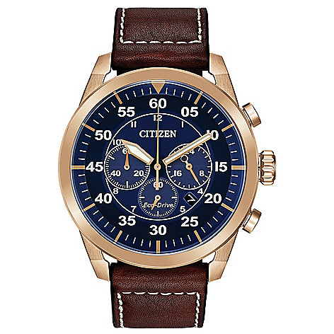 Citizen_Men's_45mm_Eco-Drive_Avion_Chronograph_Strap_Watch