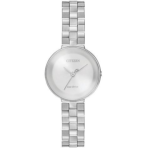 Citizen_Women's_Solar_Powered_Stainless_Steel_Bracelet_Watch