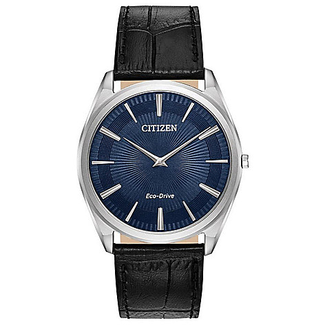 Citizen_Men's_38mm_Eco-Drive_Stiletto_Leather_Strap_Watch