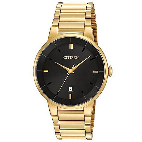 Citizen_Men's_40mm_Quartz_Date_Window_Stainless_Steel_Bracelet_Watch