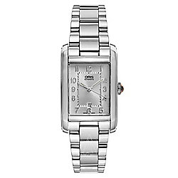 Oris Women's Swiss Made Automatic Date Window Stainless Steel Bracelet Watch