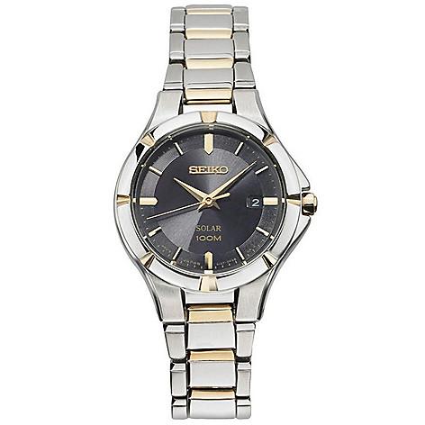 Seiko_Women's_Solar_Powered_Date_Stainless_Steel_Bracelet_Watch