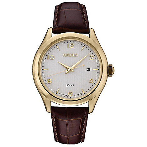 Seiko_Men's_42mm_Solar_Powered_Date_Embossed_Leather_Strap_Watch