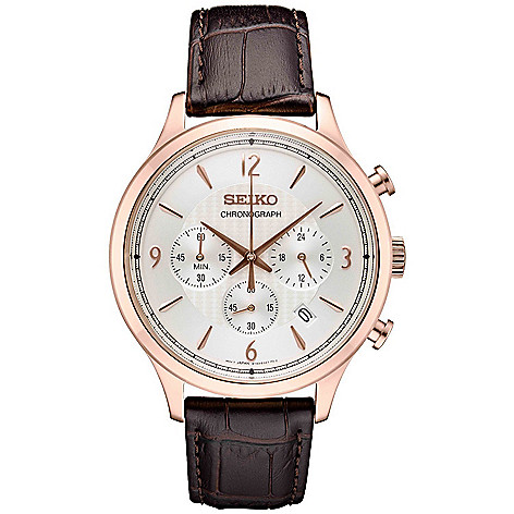 Seiko_Men's_43mm_Essentials_Quartz_Chronograph_Date_Leather_Strap_Watch