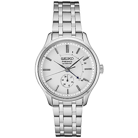 Seiko_Men's_42mm_Presage_Automatic_Date_Stainless_Steel_Bracelet_Watch