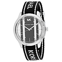 Michael Kors Women's Runway Quartz Nylon Strap Watch
