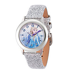 Disney® Frozen 2 Elsa Kids' 32mm Quartz Leather Strap Watch