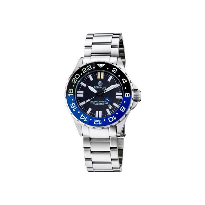 Invicta Into the Blue at ShopHQ - 662-365 Glycine Men's 42mm Combat Swiss Made Automatic Nylon NATO Strap Watch