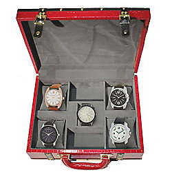 Mont Zermatt Men's Assorted Leather Strap Watches Gift Set