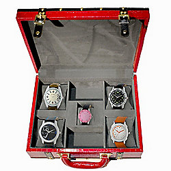 Mont Zermatt Men's & Women's Assorted Leather Strap Watches Gift Set