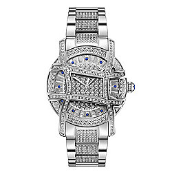 677-199 JBW Women's Olympia Platinum Series Ltd Edition Swiss Quartz Diamond Watch - 677-199