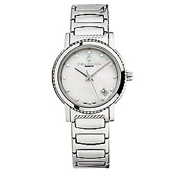 Charriol Women's Parisi Swiss Made Quartz Mother-of-Pearl Diamond Accented Bracelet Watch