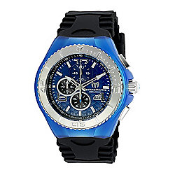 TechnoMarine Men's 46mm Cruise Quartz Chronograph Silicone Strap Watch