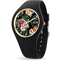 ICE Flower 41mm Quartz Medium Silicone Strap Watch