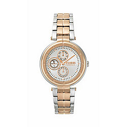 Versus Versace Women's Bellville Quartz Multi-Function Bracelet Watch Made w/ Swarovski Crystals