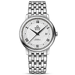 Omega Men's 40mm Swiss Made Automatic Date Silver-tone Stainless Steel Bracelet Watch