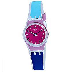 Swatch Women's Swiss Made Quartz Rubber Strap Watch