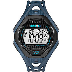 Timex Men's 42mm Blue Ironman Digital Strap Watch