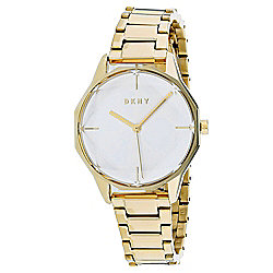 DKNY Women's Quartz Gold-Tone Stainless Steel Bracelet Watch
