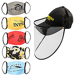 Invicta Invincible In Detail Hat w/ Protective Shield & Set of 5 Masks