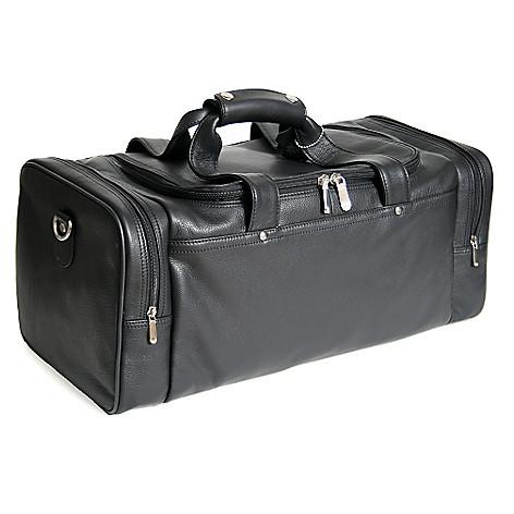 719-490- ROYCE New York Leather Large Sports Duffel Bag 862a3bfae62c0