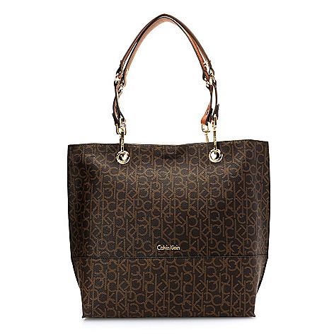 ec58cab4e29 Calvin Klein Handbags Logo Reversible Tote Bag - EVINE
