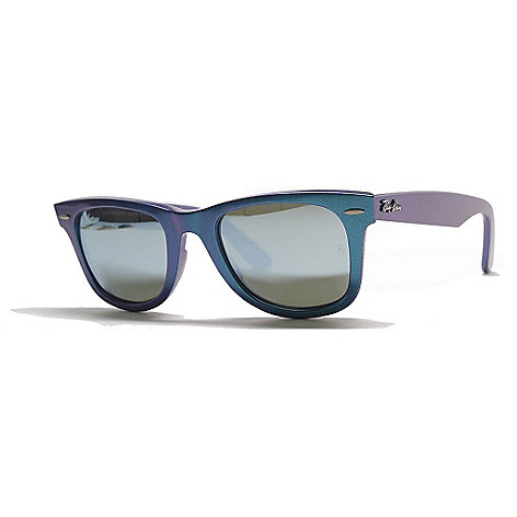 144d92d7c8 727-286- Ray-Ban Unisex Light Blue Wayfarer Frame Sunglasses w  Case