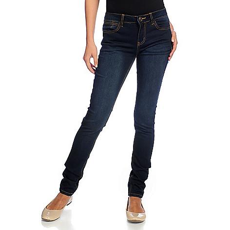 e5542aed7f217 729-428- OSO Casuals® Stretch Knit Denim Five-Pocket Skinny Jeans