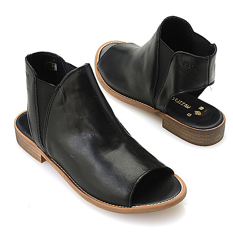 On Double Boots Cloud At Sale Musseamp; Ciara Leather Gored Ankle dxrBoeCW