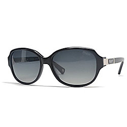 596e378387f6 Image of product 730-670. QUICKVIEW. Coach Polarized Lens Square Frame Sunglasses  w  Case